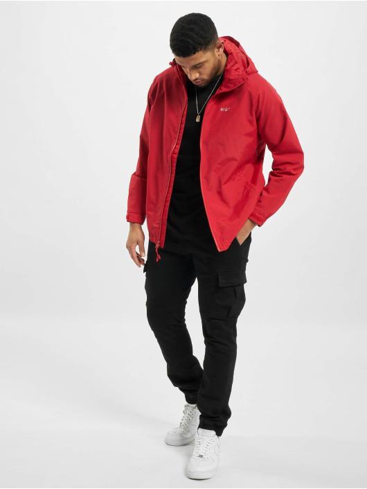 HUF Lightweight Jacket Standard Shell red