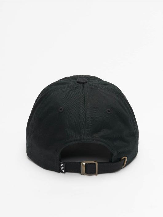 HUF Snapback Caps Essentials Og Logo Cv Hat musta