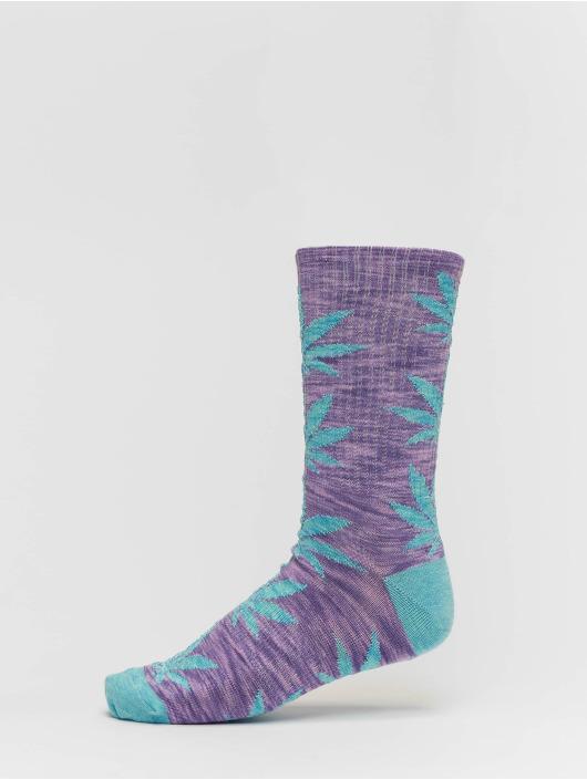 HUF Socken Plantlife Full Melange blau