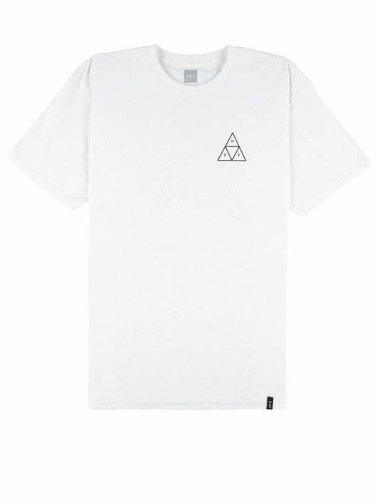 HUF T-Shirt City Rose blanc
