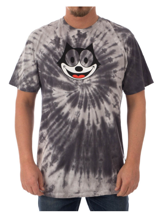 HUF T-Shirt Felix Hypnotize Spiral grey