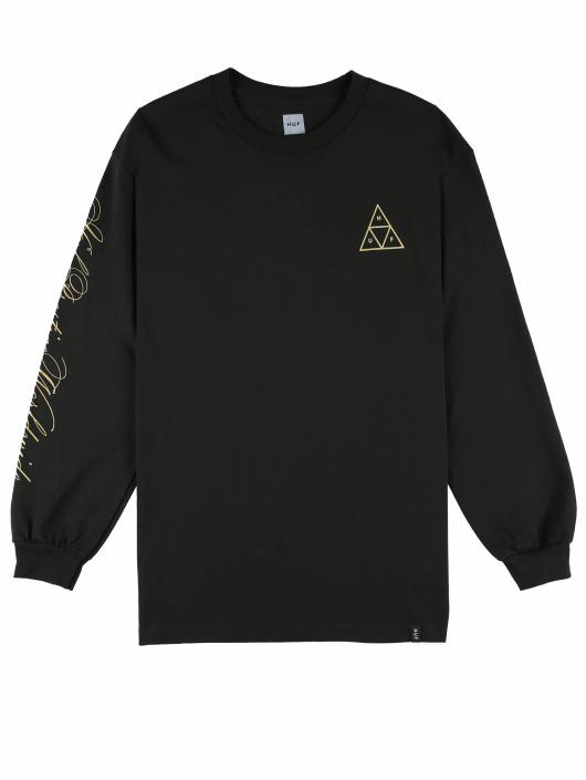 HUF T-Shirt manches longues Prestige Tt L/S noir