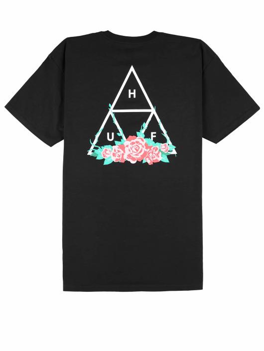 HUF T-Shirt City Rose Tt S/S schwarz