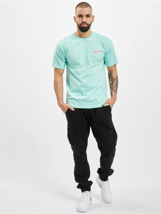 HUF T-Shirty Classic H zielony