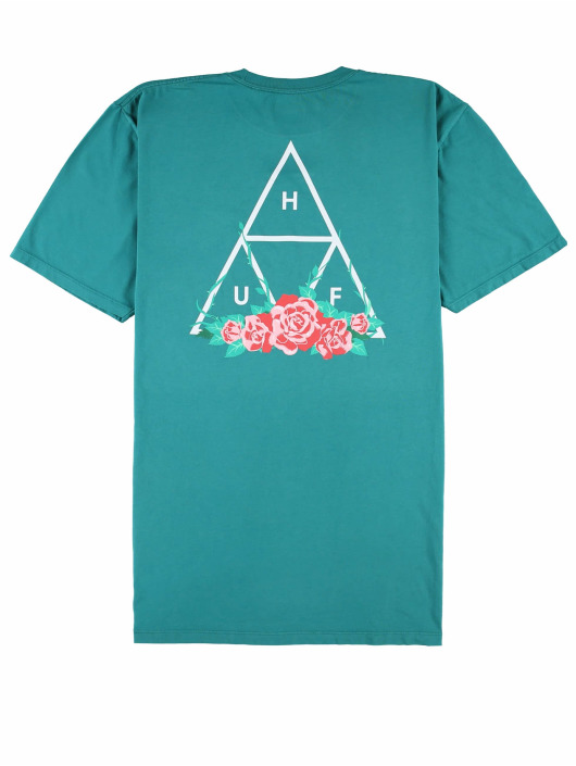 HUF T-Shirty Rose Tt S/S zielony