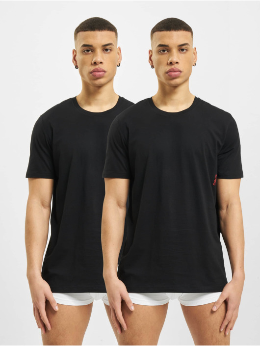 Hugo t-shirt Twin Pack 2-Pack zwart