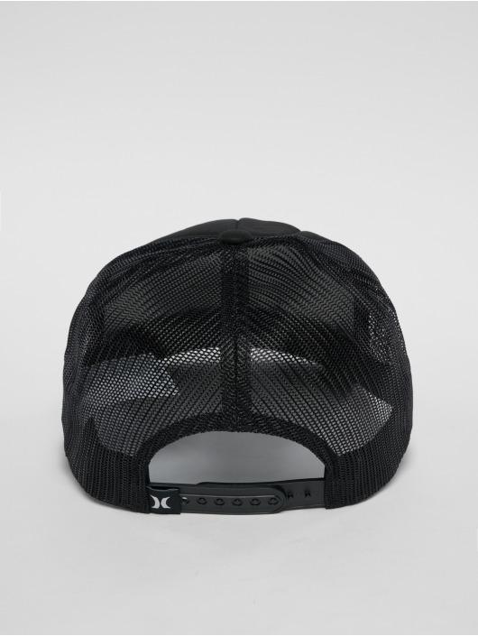 Hurley Casquette Trucker mesh Waxed noir