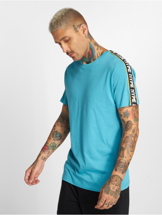 HYPE T-Shirt Warning turquoise