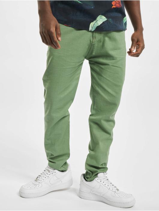 I Love Ugly Spodnie wizytowe Ugly Edo zielony