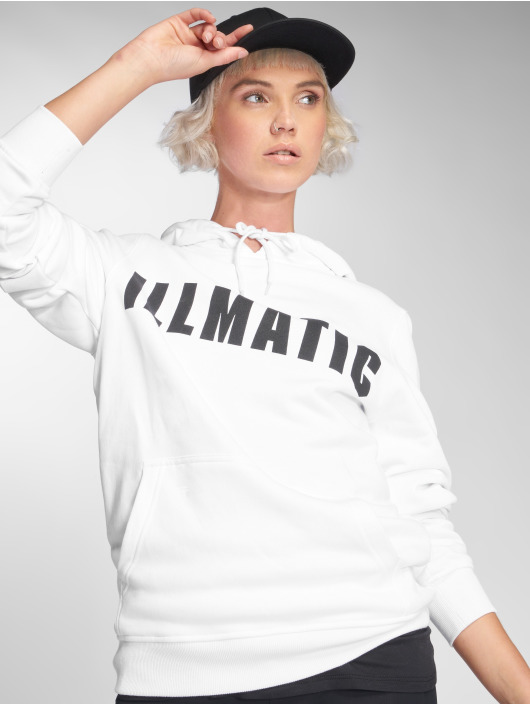 Illmatic Hoodies Inface hvid