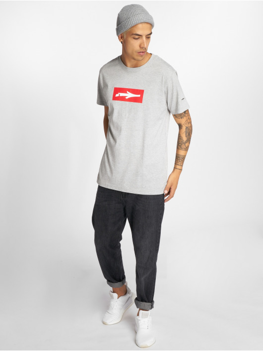 Illmatic T-Shirty Inbox szary