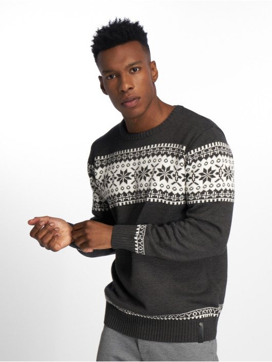 Indicode Pullover Nohan gray