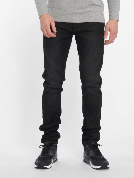 Indicode Straight Fit Jeans Pittsburgh black