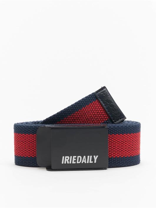 Iriedaily Gürtel Striped blau