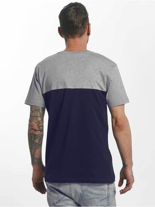 Iriedaily T-Shirt Block Pocket II blau