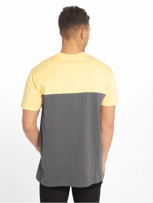 Iriedaily T-Shirt Block Pocket gelb