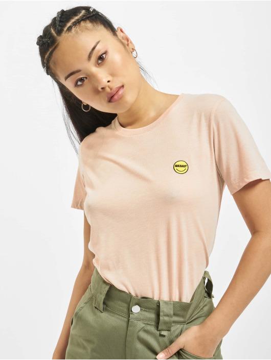 Iriedaily T-Shirt Daily Smile rosa