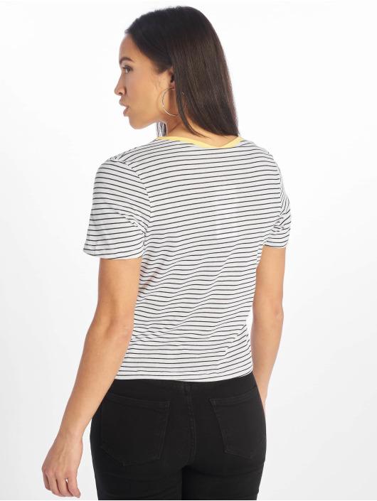 Iriedaily T-Shirt Stripy Flag weiß