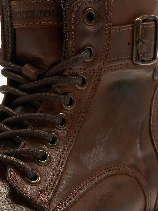 Jack & Jones Čižmy/Boots jfwAlbany hnedá