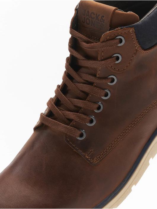 Jack & Jones Čižmy/Boots jfwTubar Leather hnedá