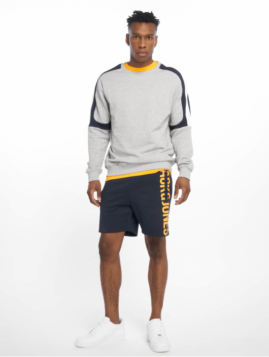 Jack & Jones Šortky jcoPops Sweat modrá