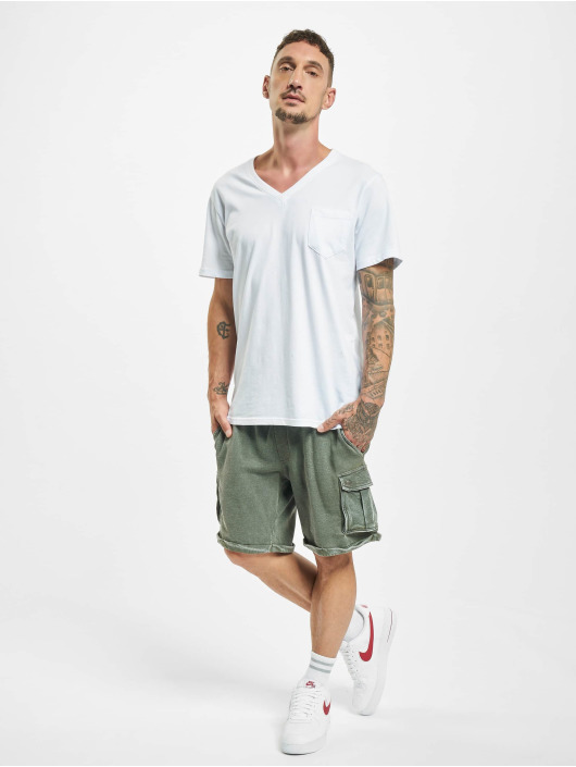 Jack & Jones Šortky jjiLee Sweat Cargo VIY olivová