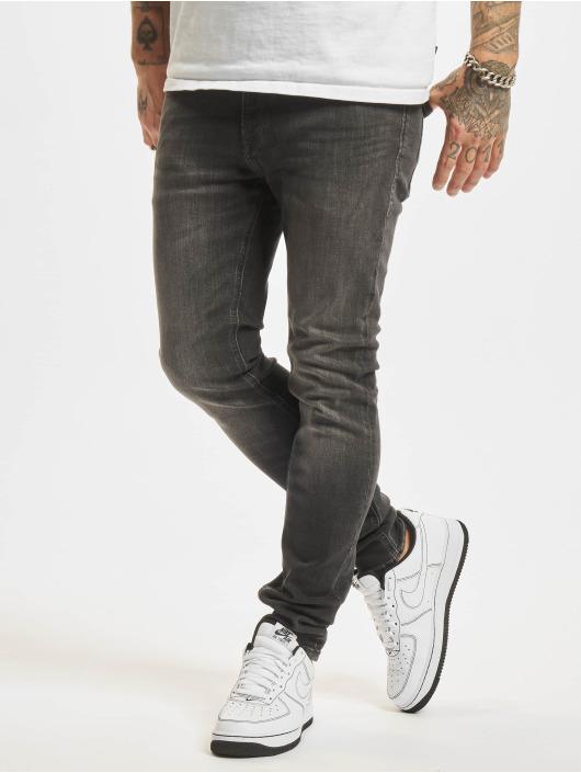 Jack & Jones Облегающие джинсы Jjiliam Jjoriginal серый