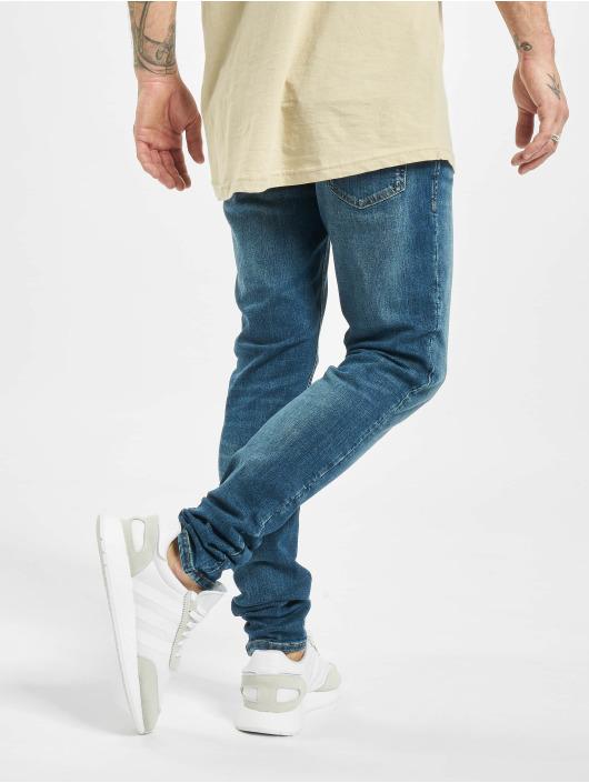 Jack & Jones Облегающие джинсы jjiLiam Jjoriginal Agi 005 синий