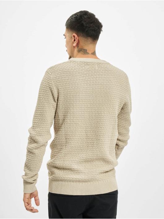 Jack & Jones Пуловер jorJulius Knit бежевый
