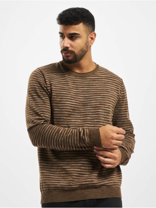 Jack & Jones Пуловер jprBluted коричневый