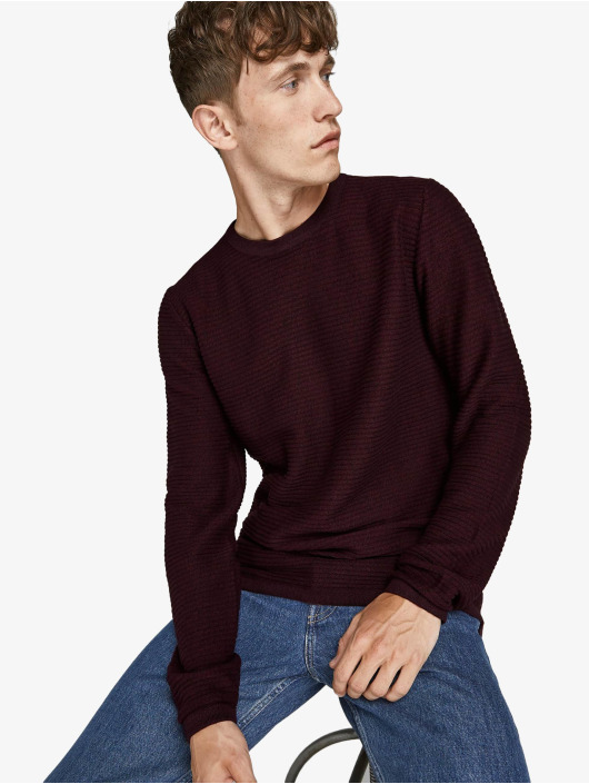 Jack & Jones Пуловер Jjewind Knit красный