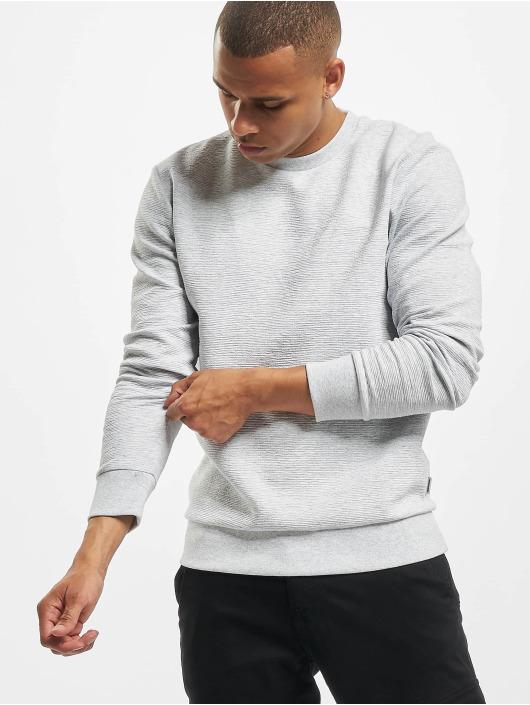 Jack & Jones Пуловер jcoStructure серый