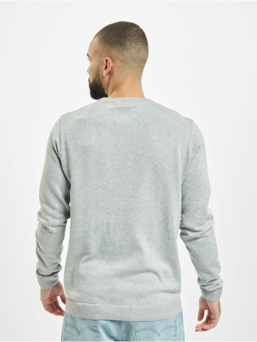 Jack & Jones Пуловер jcoHimalaya Knit серый