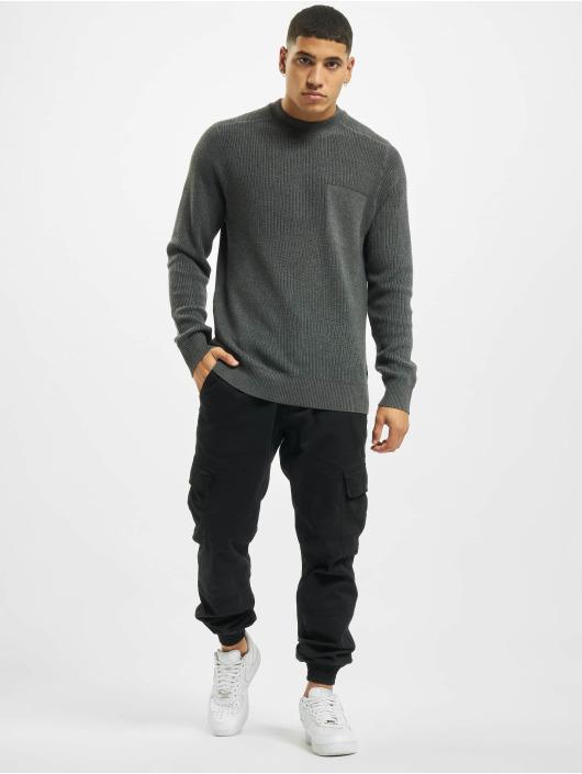 Jack & Jones Пуловер jcoWaddington серый