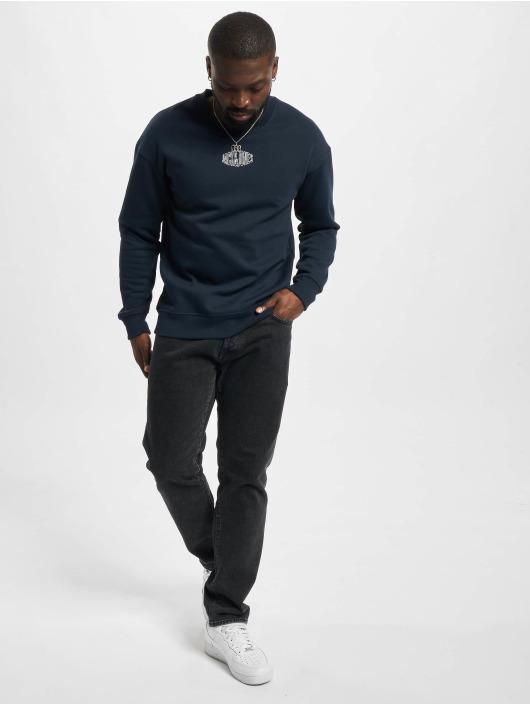 Jack & Jones Пуловер Jorworld синий