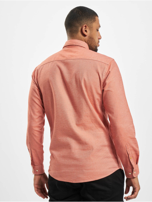 Jack & Jones Рубашка jprBlusean One Pocket красный