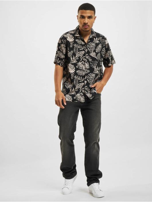 Jack & Jones Рубашка Jprblaleaf Resort черный