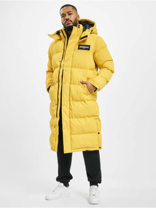 Jack & Jones Стеганая куртка jorSpect Long желтый