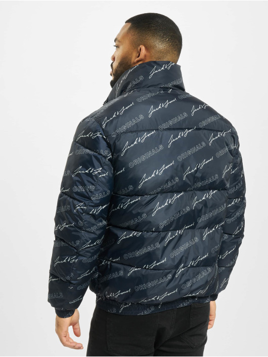 Jack & Jones Стеганая куртка jorSpector синий