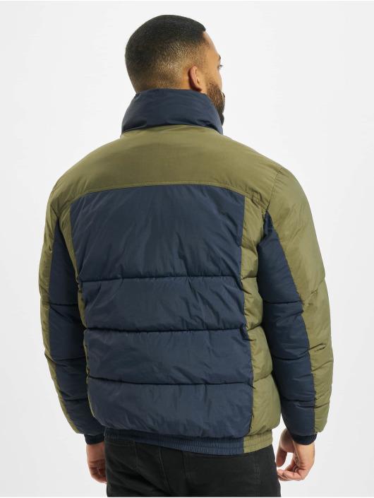 Jack & Jones Стеганая куртка jorSpector Puffer синий