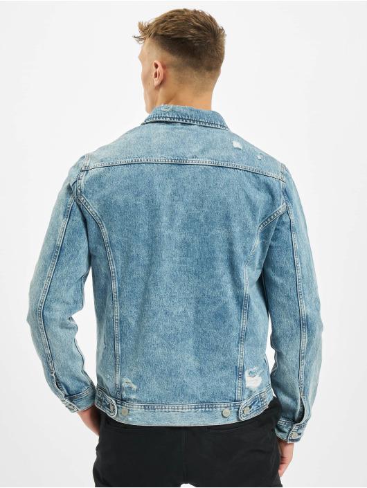 Jack & Jones джинсовая куртка jjiJean jjJacket Agi 048 синий