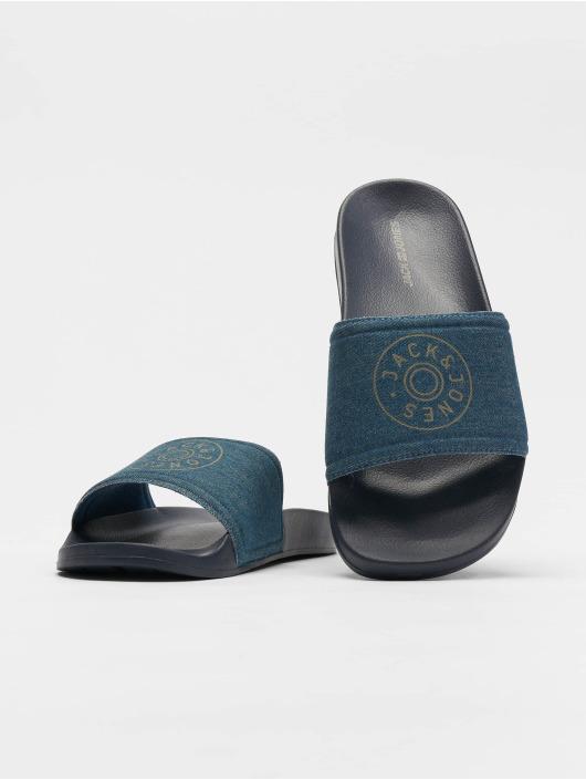 Jack & Jones Badesko/sandaler jfwLarry blå