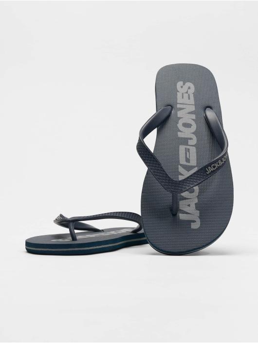 Jack & Jones Badesko/sandaler Jfwlogo Pack 1 blå
