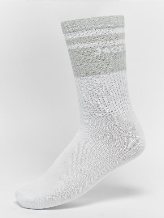Jack & Jones Badesko/sandaler jfwFlip hvit