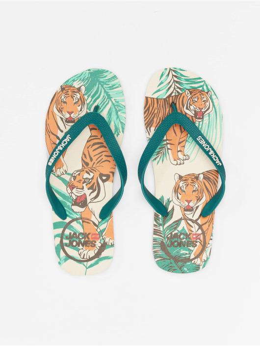 Jack & Jones Badesko/sandaler jfwAnimal Print Pack turkis
