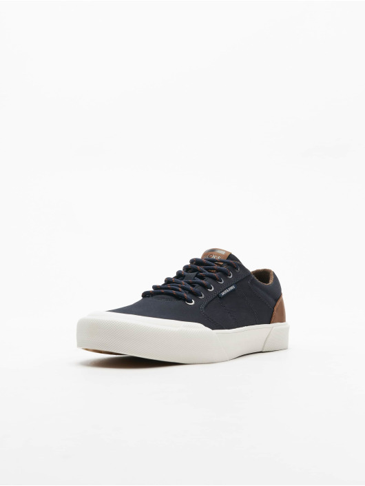 Jack & Jones Baskets jfwThai Canvas Pu Mix bleu