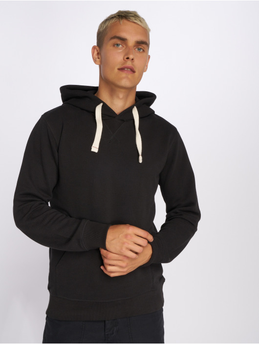 Jack & Jones Bluzy z kapturem jjePique czarny