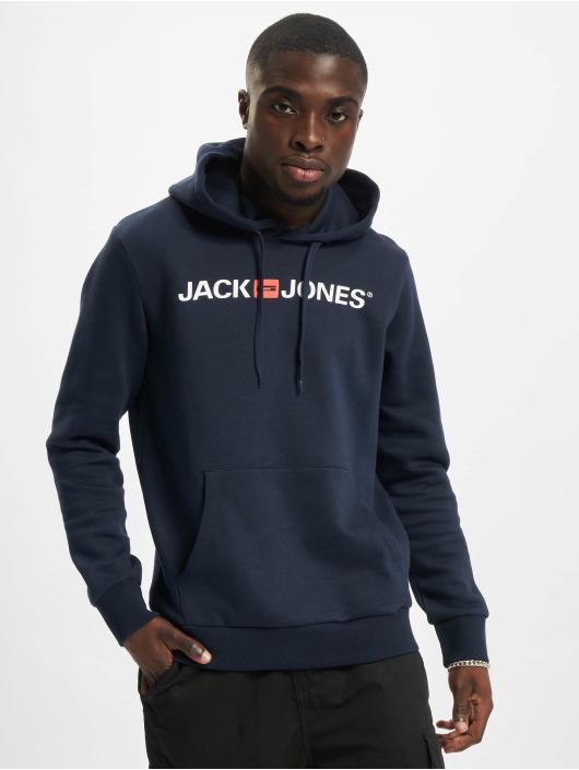 Jack & Jones Bluzy z kapturem Jjecorp Old Logo 2-Pack czarny