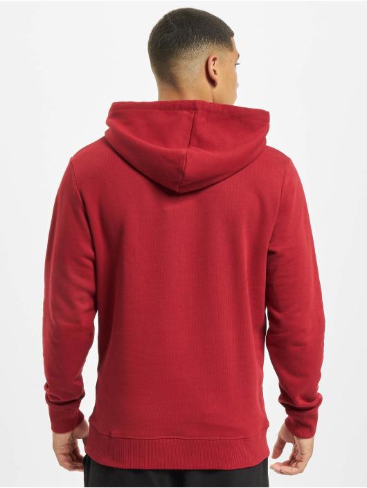 Jack & Jones Bluzy z kapturem jprBlurugged czerwony