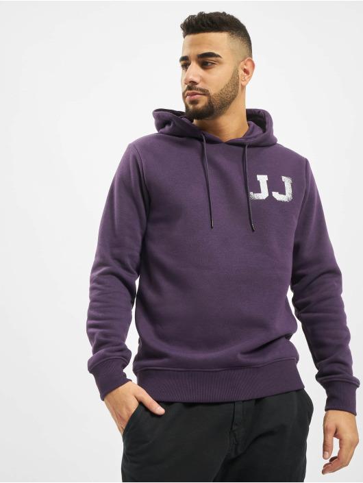 Jack & Jones Bluzy z kapturem jcoThunder fioletowy